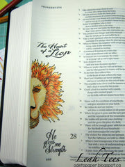 Clear Stamps - Lion and Lamb | Bible Journaling Clear Stamps - Joy Clair - 4