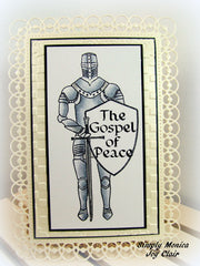 Clear Stamps - Armor of God | Bible Journaling Clear Stamps - Joy Clair - 3