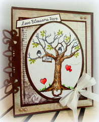 The Love Tree Clear Stamps - Joy Clair - 11