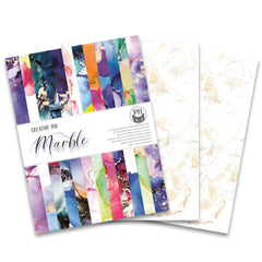 Marble Creative Collection 6 x 8 Paper Pad - P13