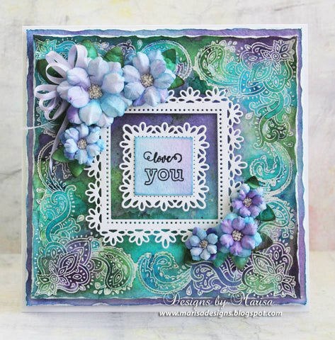 Bandana Bits Clear Stamps