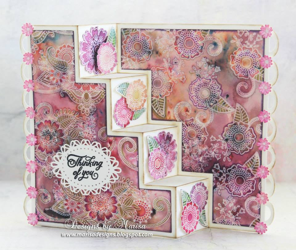 Paisley Bouquet Clear Stamps - Joy Clair - 3
