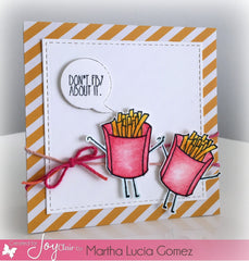 Funny Foods Clear Stamps - Joy Clair - 13