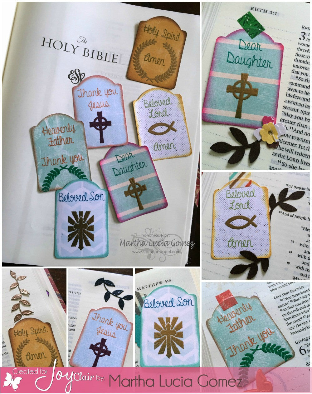 Clear Stamps - Letter to God | BIble Journaling Clear Stamps - Joy Clair - 4