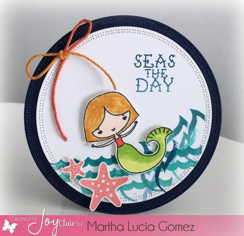 Seas the Day Clear Stamps
