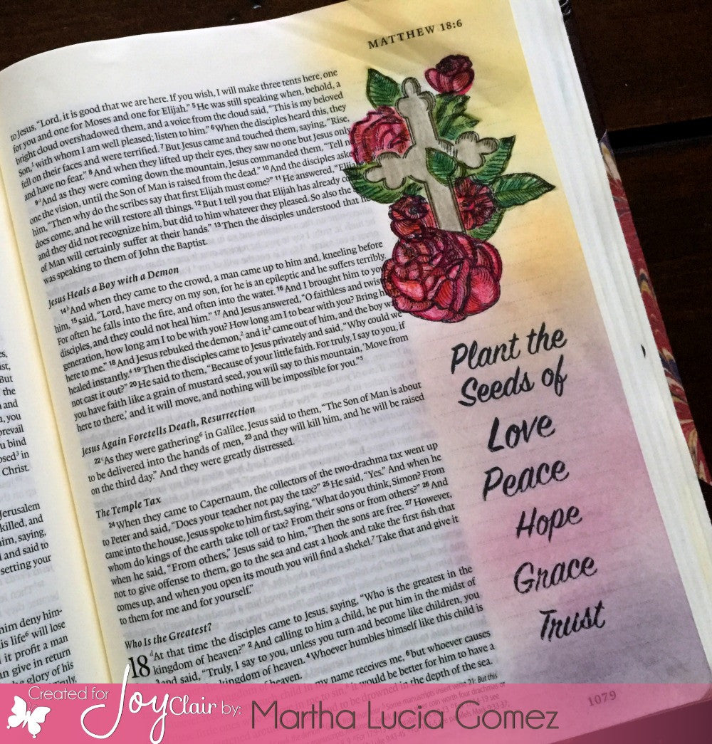 Clear Stamps - Seeds of Faith | Bible Journaling Clear Stamps - Joy Clair - 8