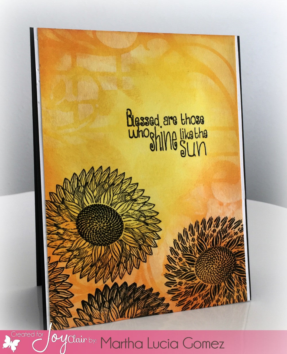 Sunflower Set Clear Stamps - Joy Clair - 9
