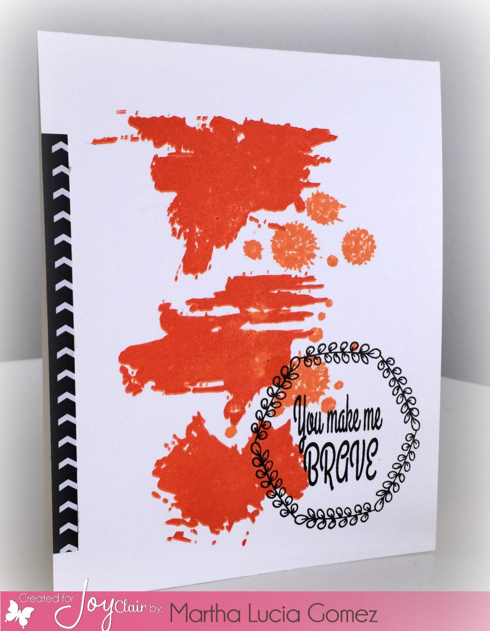 Uh-Oh Ink Splatter Clear Stamps - Joy Clair - 8