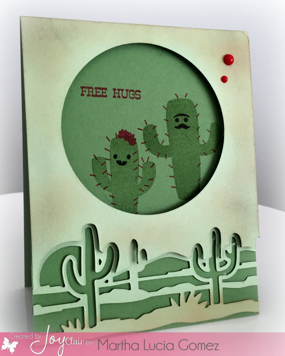 Prickly Happy Clear Stamp - Joy Clair - 3