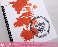Uh-Oh Ink Splatter Clear Stamps - Joy Clair - 7