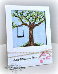 The Love Tree Clear Stamps - Joy Clair - 15