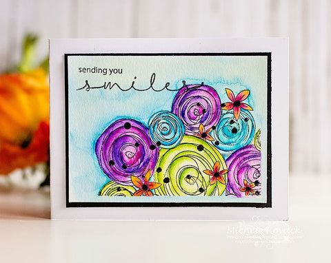 Hugs and Smiles Clear Stamps