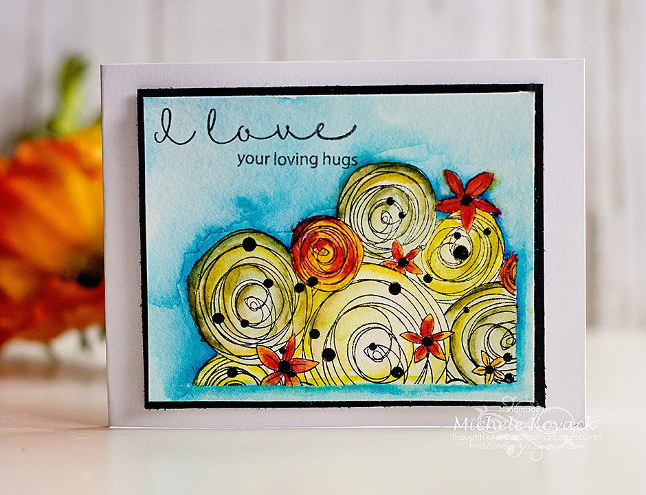 Hugs and Smiles Clear Stamps - Joy Clair - 5
