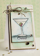 Raise Your Glass Clear Stamps - Joy Clair - 2