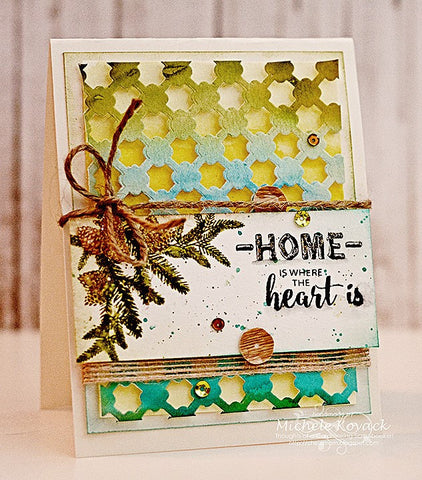 Rustic Occasions Sentiments Clear Stamps