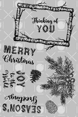 Rustic Christmas Sentiments