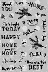 Rustic Occasions Sentiments
