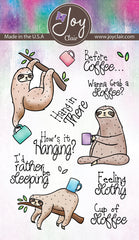 Feeling Slothly Clear Stamps
