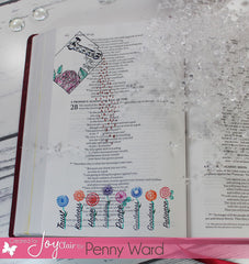 Clear Stamps - Seeds of Faith | Bible Journaling Clear Stamps - Joy Clair - 9