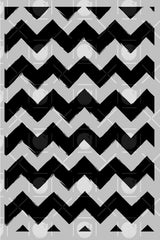 Sketchy Chevron Background