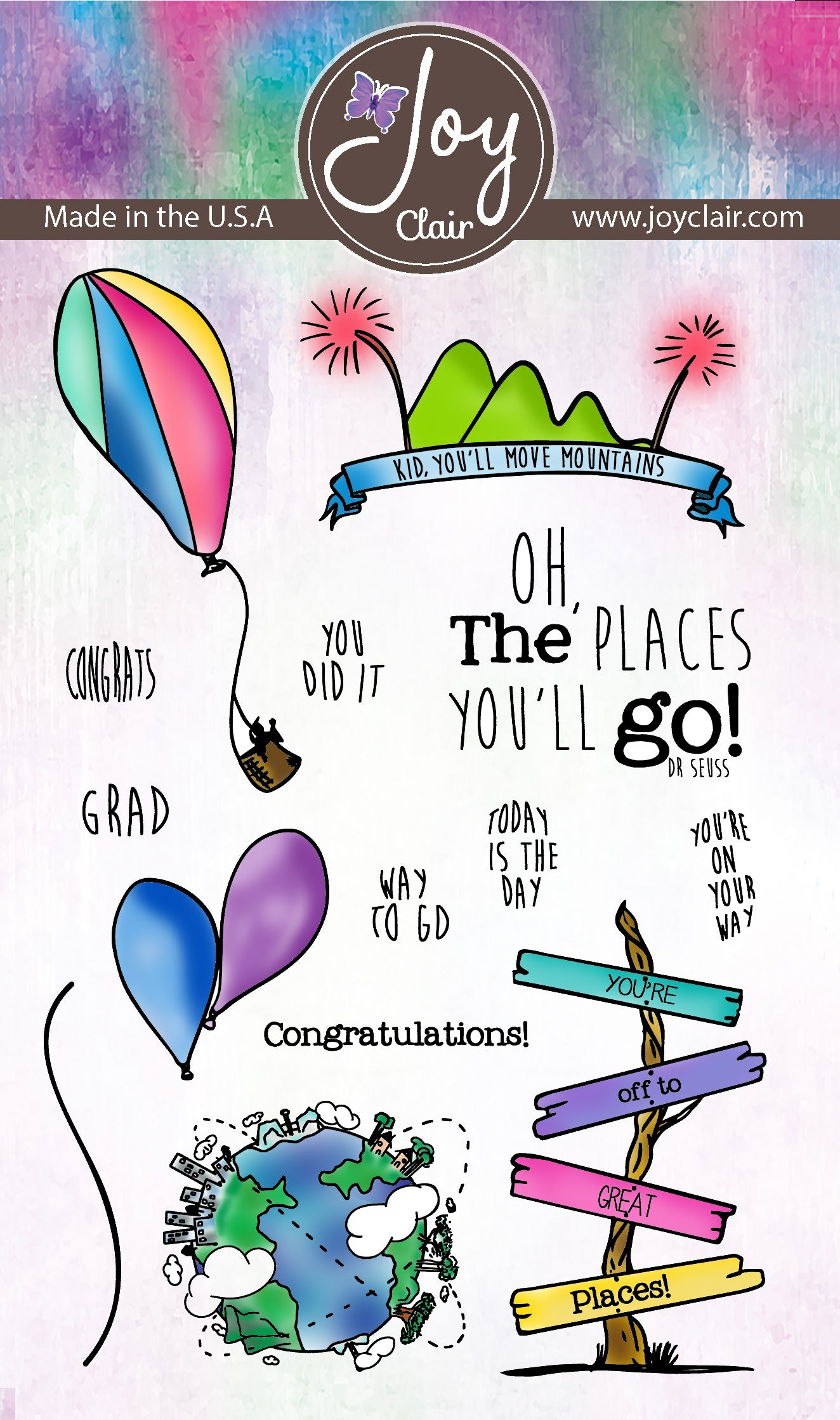 Going Places  | Clear Stamp Set