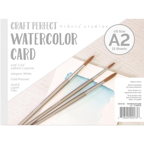 Watercolor Card A2 Craft Perfect - Tonic Studios