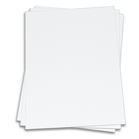 White Smooth Card Stock 8.5x11