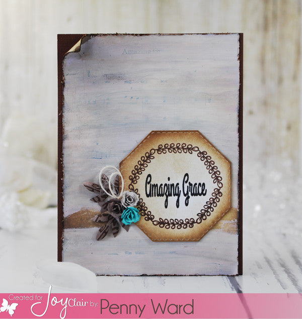 Clear Stamps - Worship Him | Bible Journaling Clear Stamps - Joy Clair - 3
