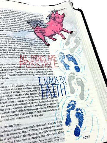 All Things Possible | Bible Journaling Clear Stamps