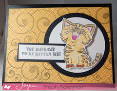 Lovely Swirl Background Clear Stamps - Joy Clair - 3