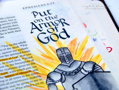 Clear Stamps - Armor of God | Bible Journaling Clear Stamps - Joy Clair - 10