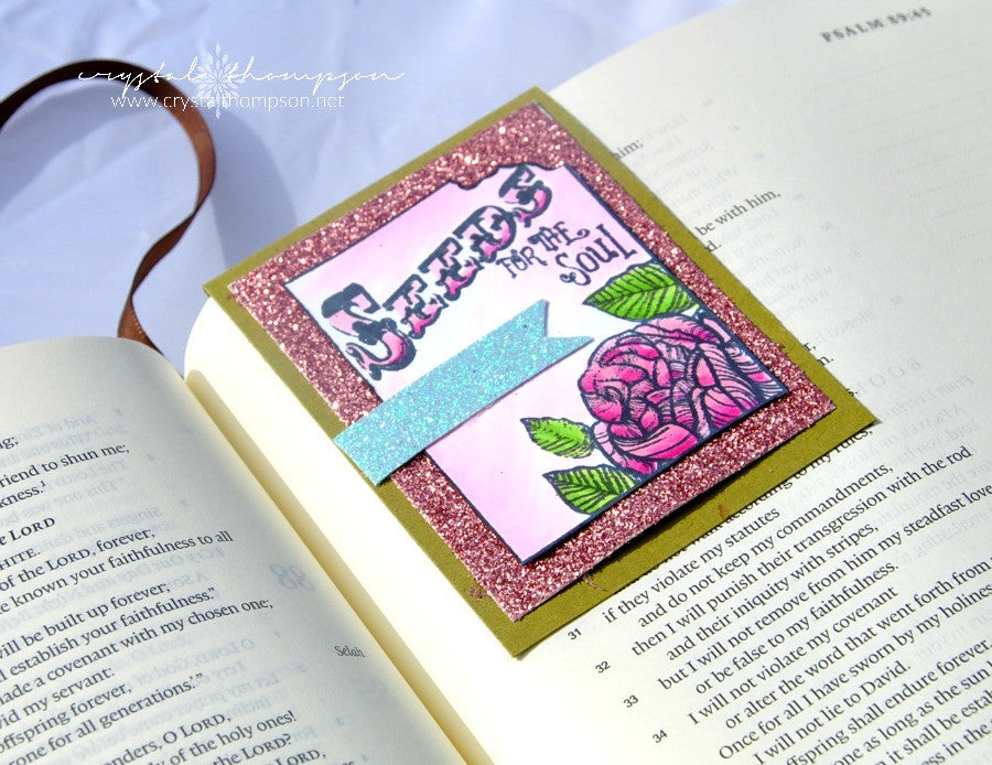 Clear Stamps - Seeds of Faith | Bible Journaling Clear Stamps - Joy Clair - 12