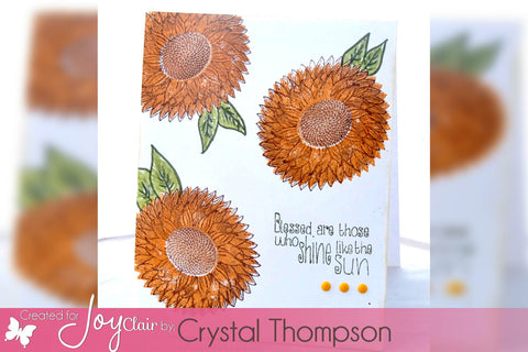 Sunflower Set Clear Stamps