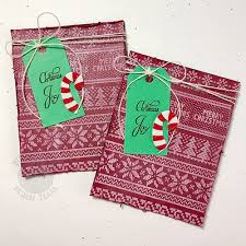 Ugly Sweater Background Builder Clear Stamps