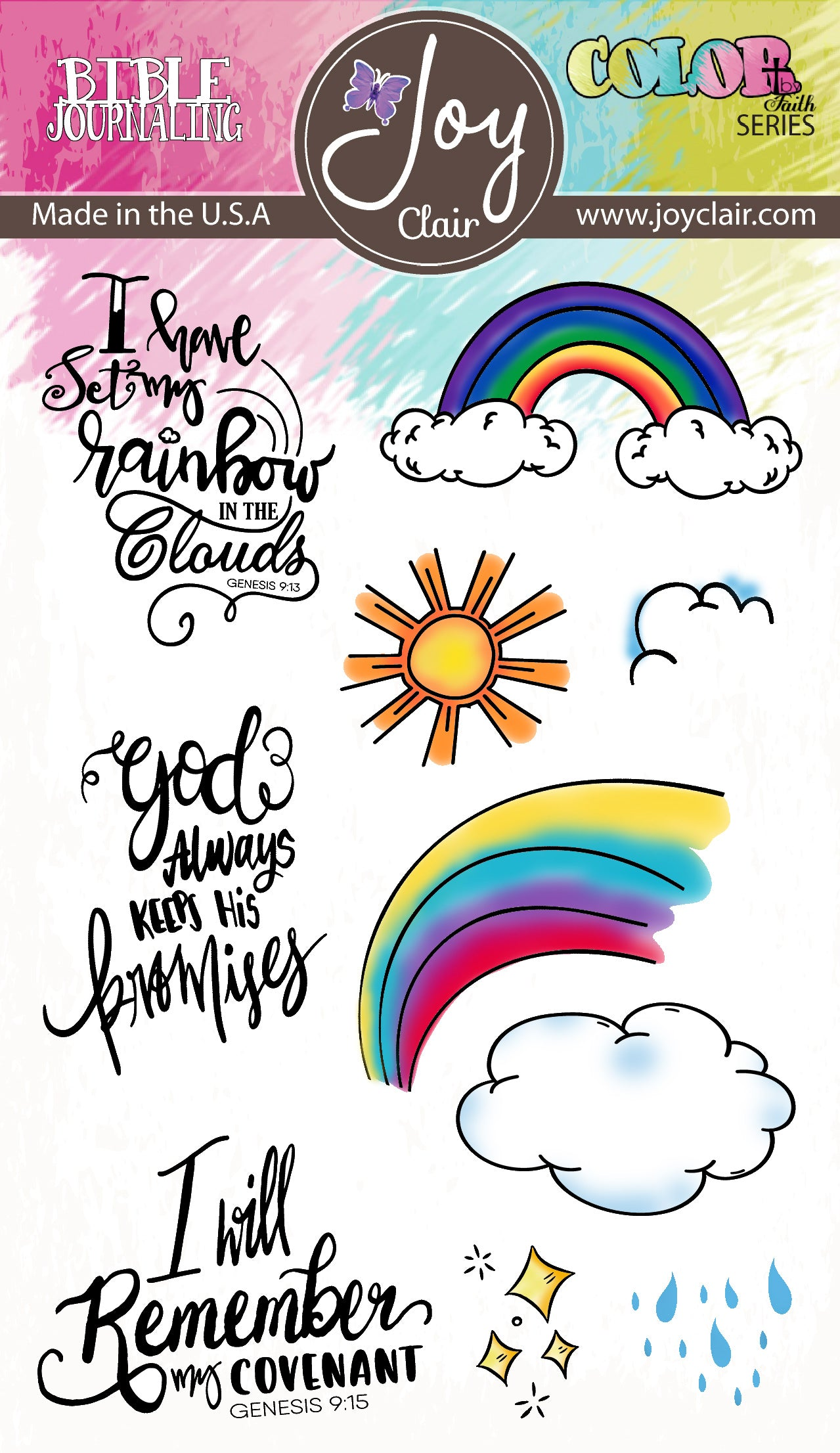 God's Promises | Bible Journaling Clear Stamp