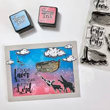 Noah's Ark | Bible Journaling Clear Stamps