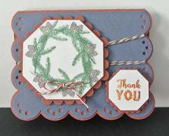 Rustic Occasions Sentiments Clear Stamps - Joy Clair - 8