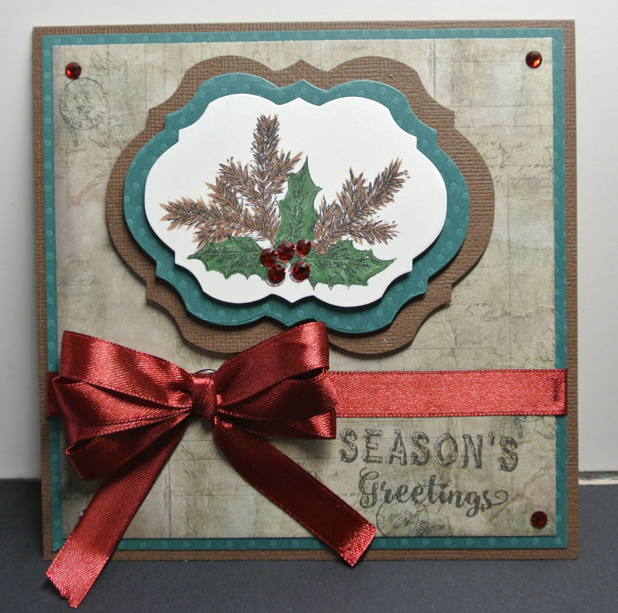 Rustic Christmas Sentiments Clear Stamps - Joy Clair - 6