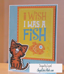 Just Kitten Around Clear Stamps - Joy Clair - 7