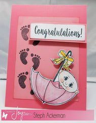 Oh Baby Clear Stamps - Joy Clair - 8