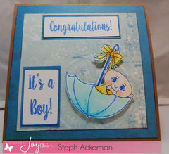 Oh Baby Clear Stamps - Joy Clair - 9
