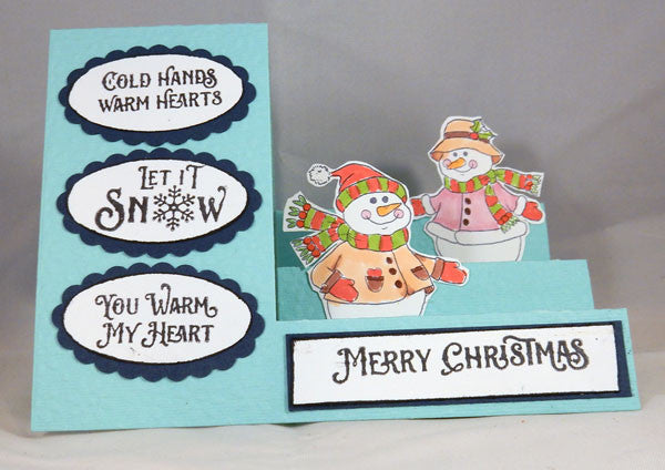 Cozy Snowman Wishes Clear Stamps - Joy Clair - 6
