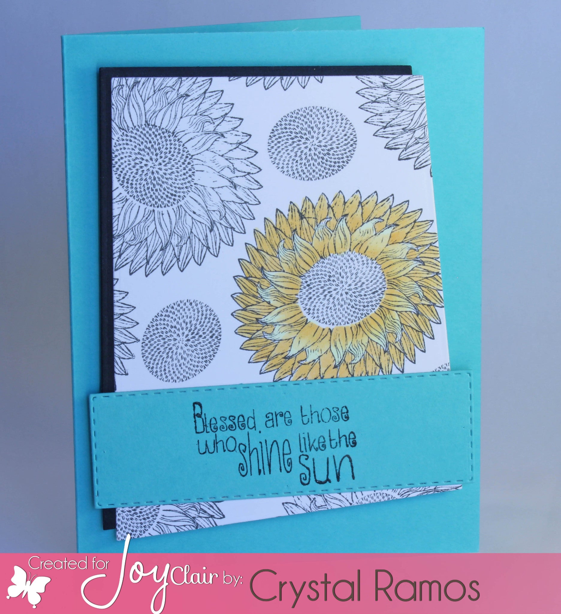 Sunflower Set Clear Stamps - Joy Clair - 11