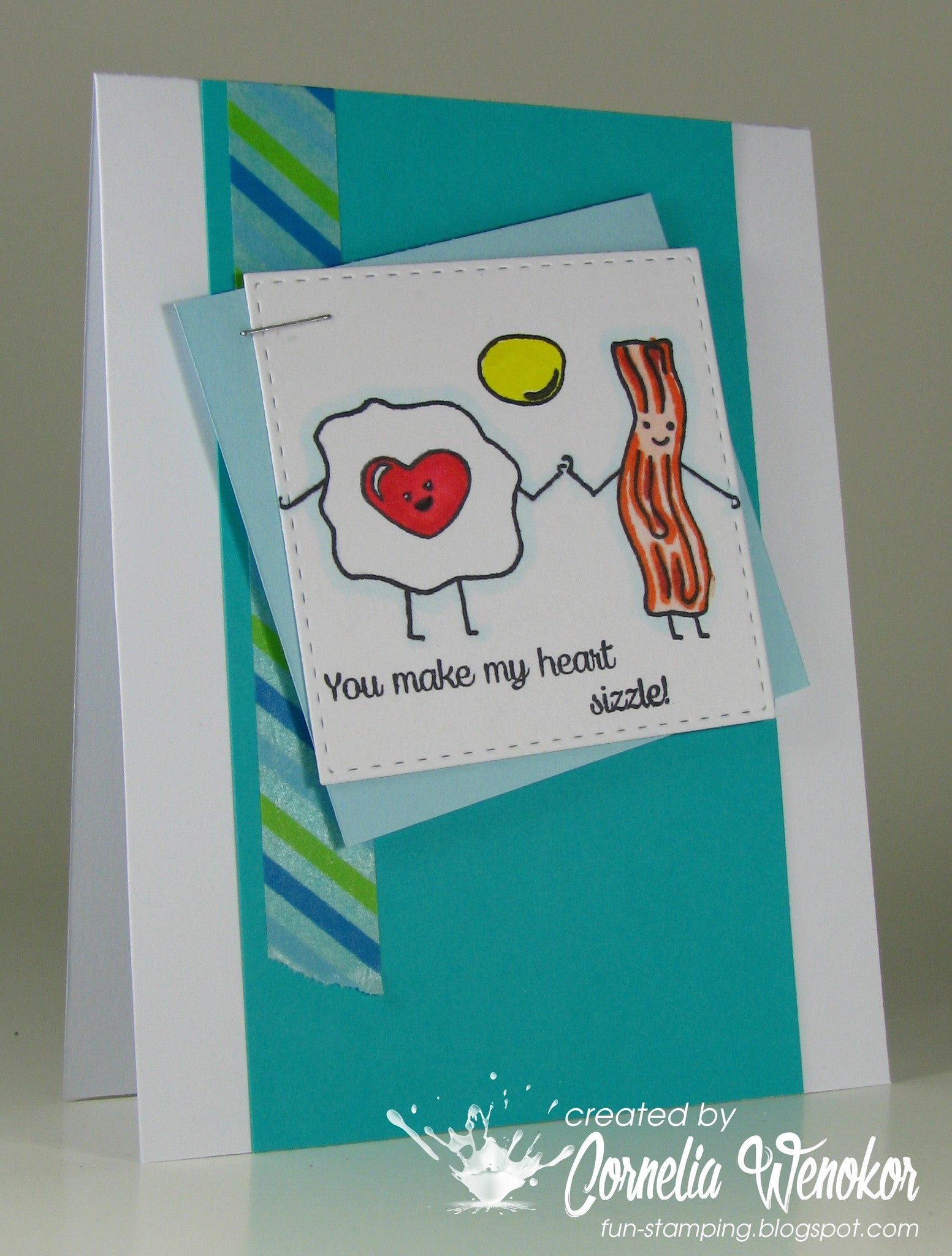 Breakfast Friends Forever Clear Stamps - Joy Clair - 8