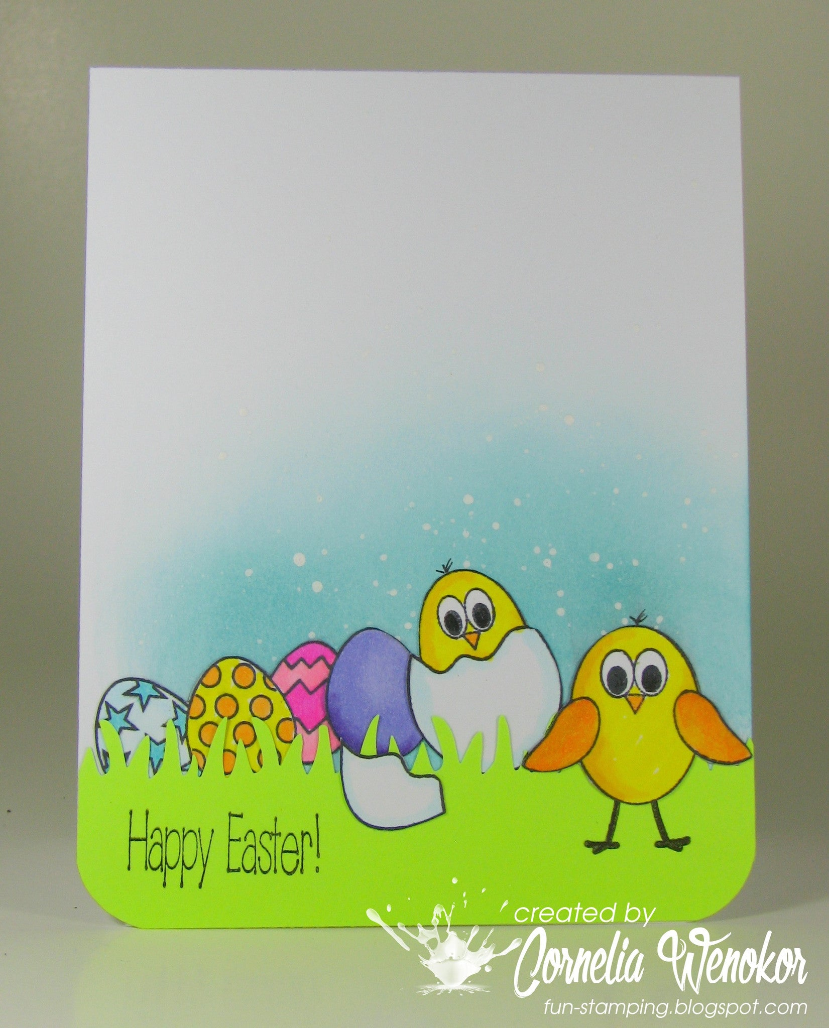 Easter Eggs Clear Stamps - Joy Clair - 13
