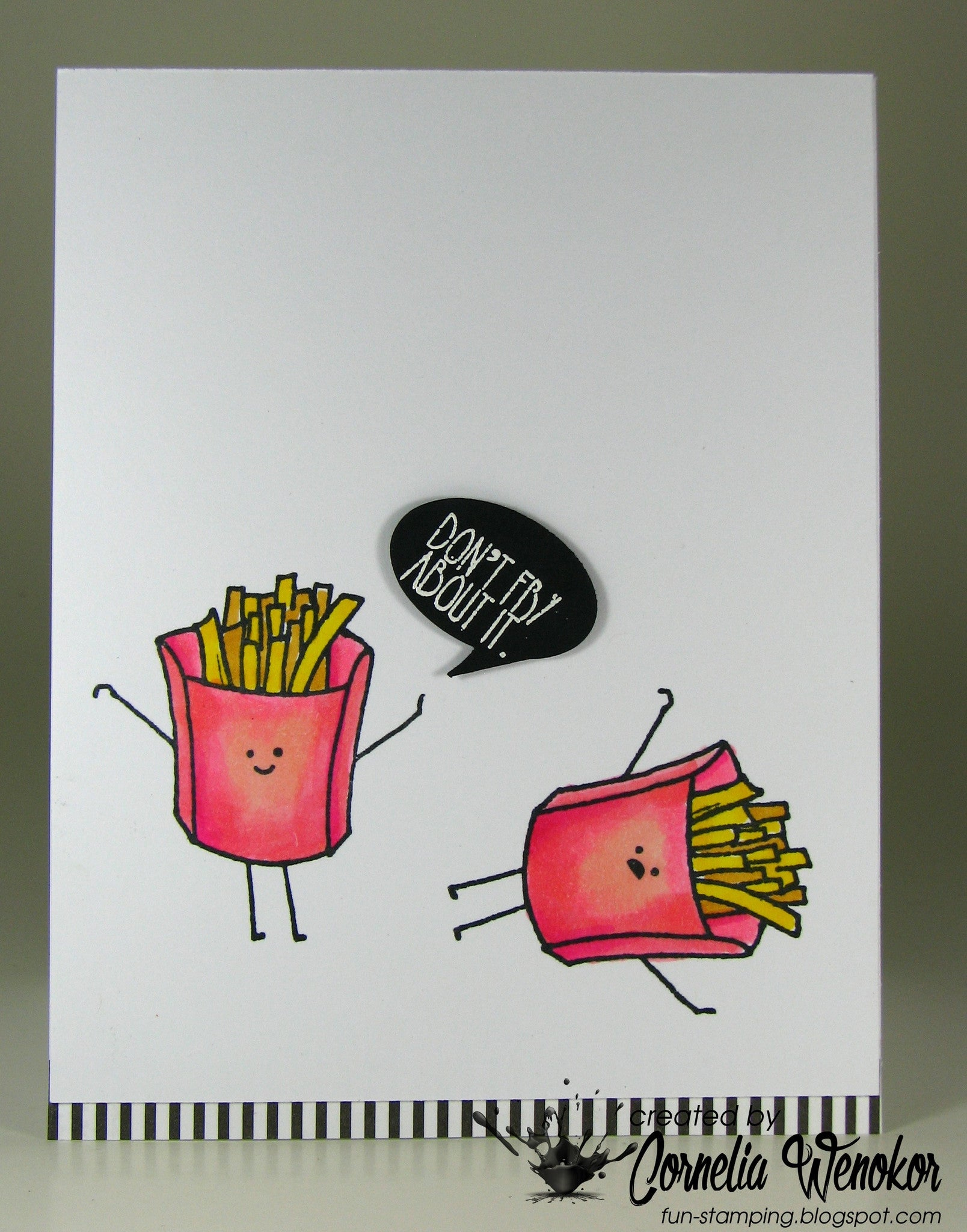 Funny Foods Clear Stamps - Joy Clair - 21