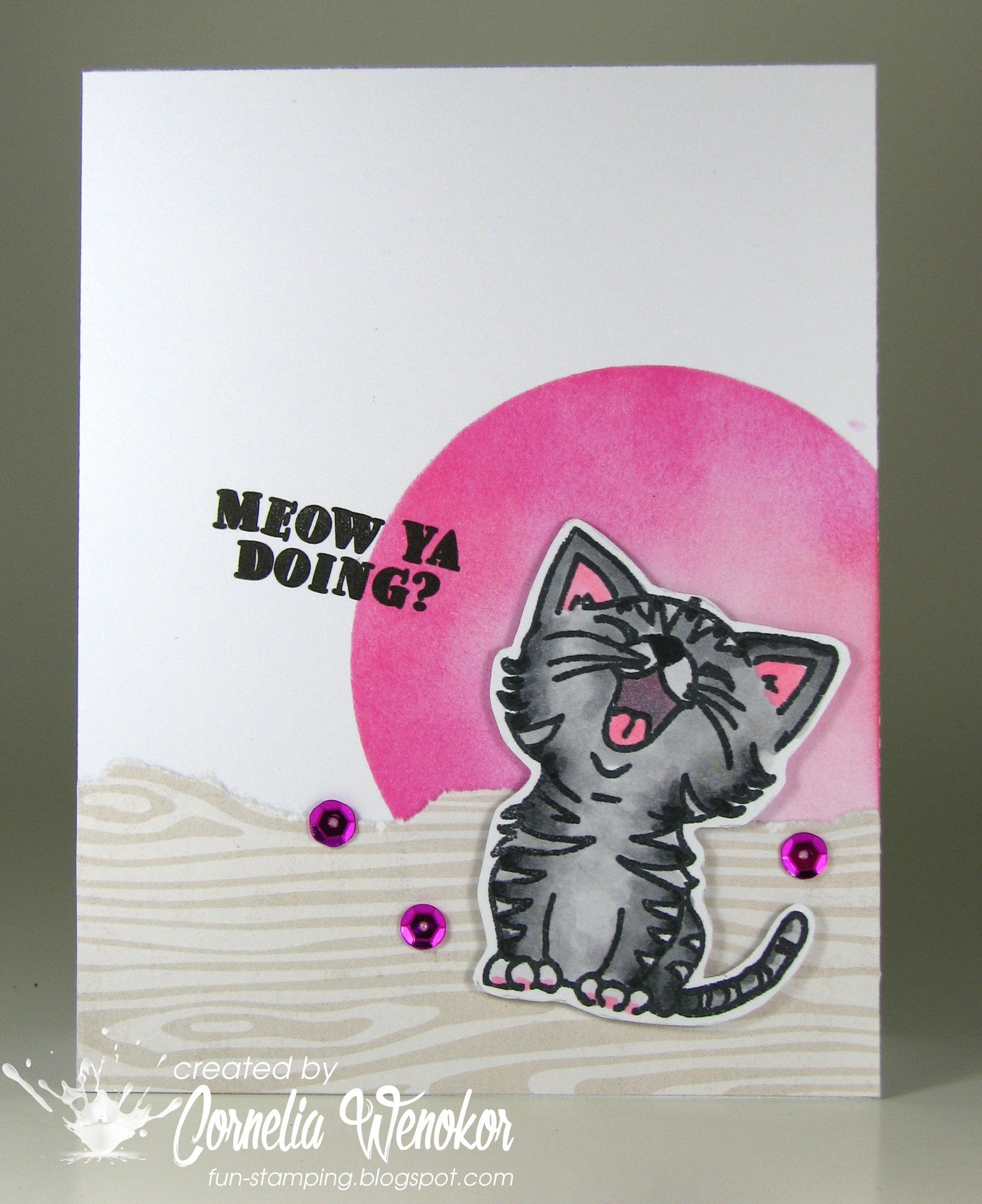 Just Kitten Around Clear Stamps - Joy Clair - 11