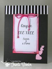 Love Coupon Clear Stamps - Joy Clair - 4