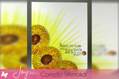 Sunflower Set Clear Stamps - Joy Clair - 6