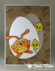 Happy Easter Clear Stamps - Joy Clair - 9